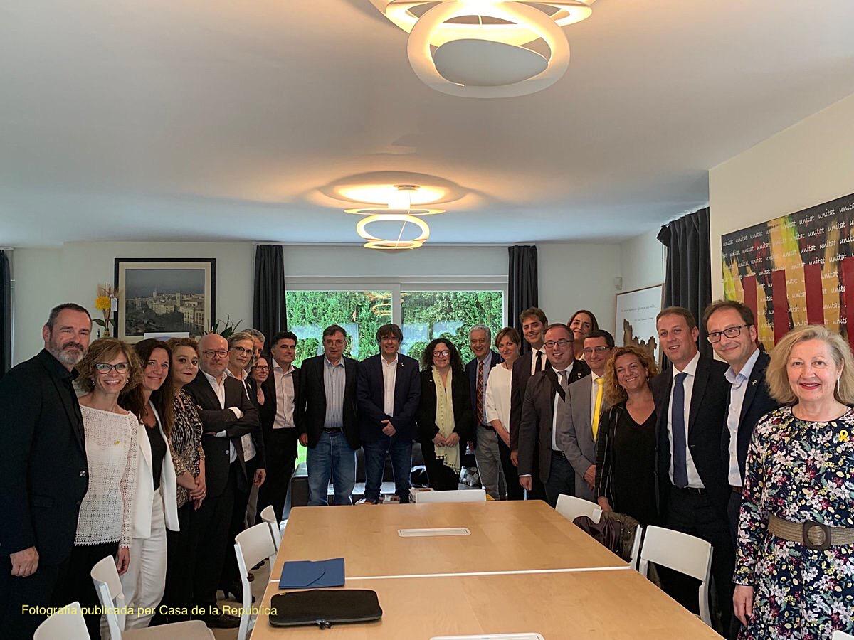 Reunió entre JPLR i el MHP Carles Puigdemont